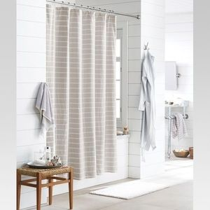 Stripe Fabric Shower Curtain